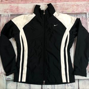 Nike Full Zip Up Windbreaker Jacket